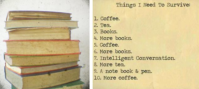 Reading Matter by Casia Beck, Things I Need to Survive by The Lady of the Books