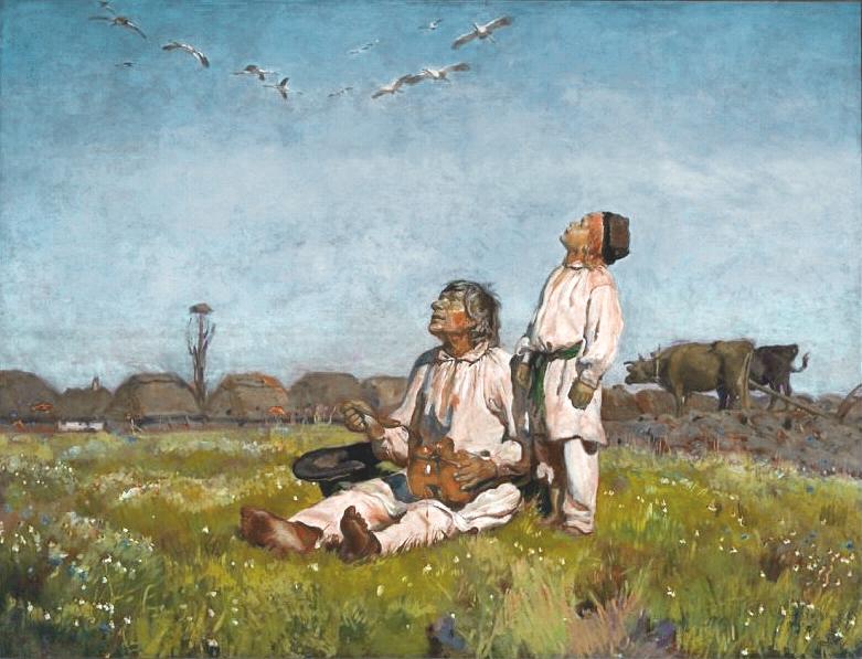 Storks by Józef Marian Chełmoński