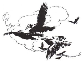 The Seven Ravens by Arthur Rackham