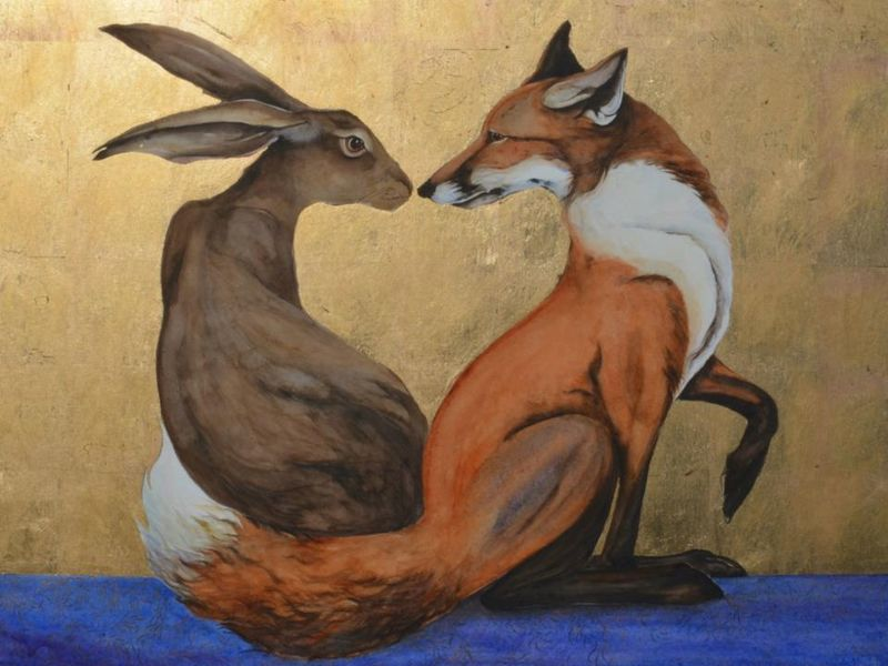 Hare and Fox by Jackie Morris