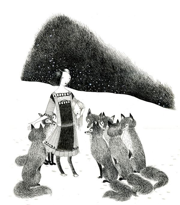 Fox Confessor by Julie Morstad