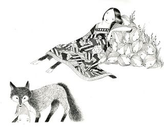 The Fox by Julie Morstad