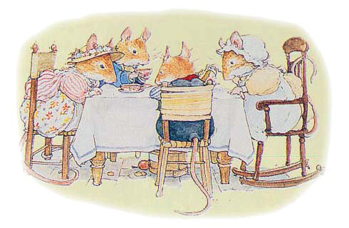 Brambly Hedge Mouse Family by Jill Barklem