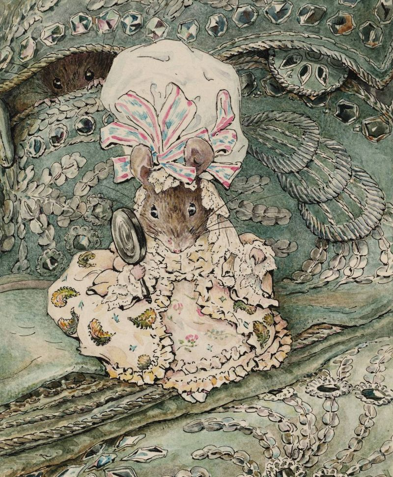 Lady Mouse in Mop Cap by Beatrix Potter