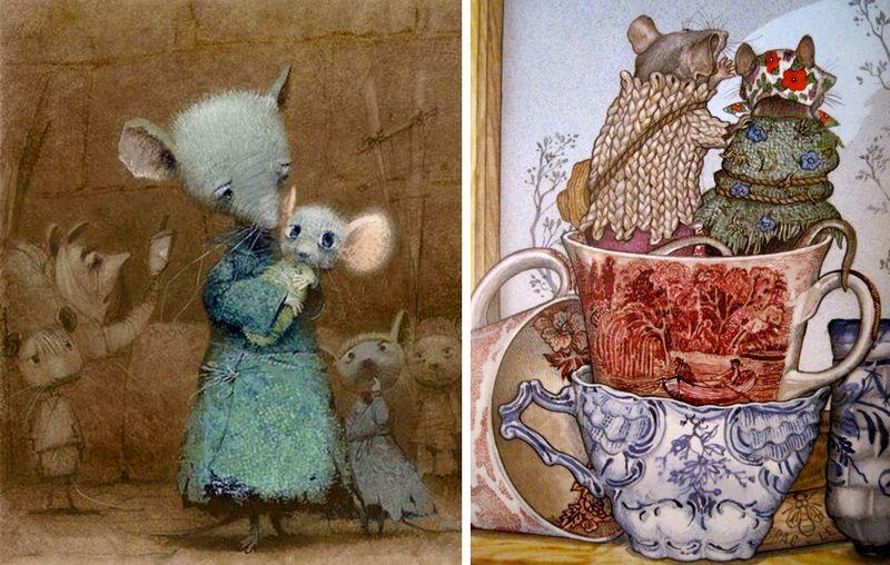 Illustrations by Igo Oleinikov and Jan Brett