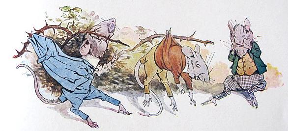 Three Blind Mice by Walton Corbould