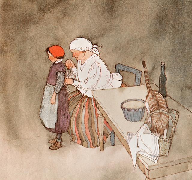 Little Red-cap by Lisbeth Zwerger