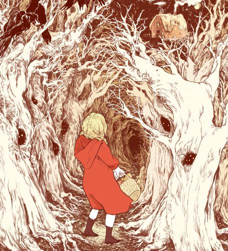 Little Red Riding Hood by Jillian Tamaki