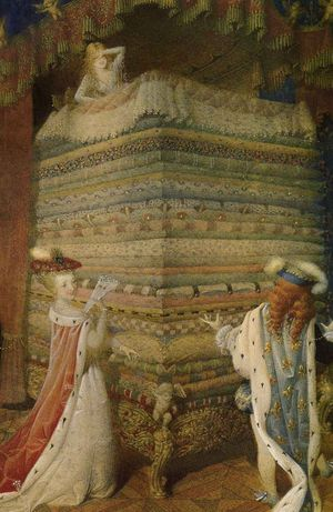 The Princess and the Pea by Gennady Spirin