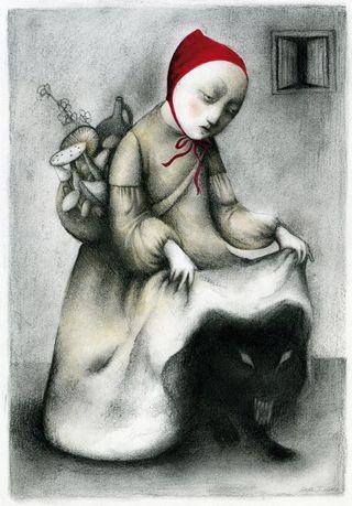 Little Red Riding Hood by Ana Juan