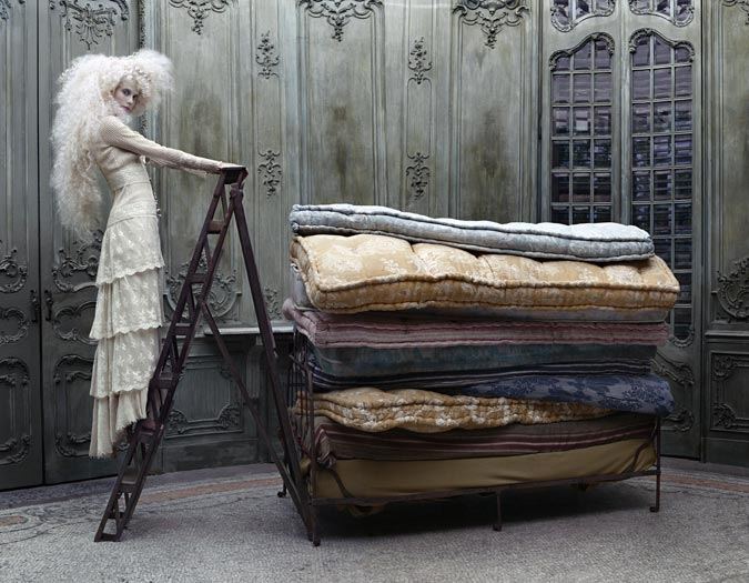The Princess and the Pea by Eugenio Recuenco