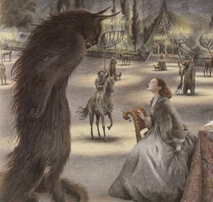 From Beauty and the Beast by Angela Barrett