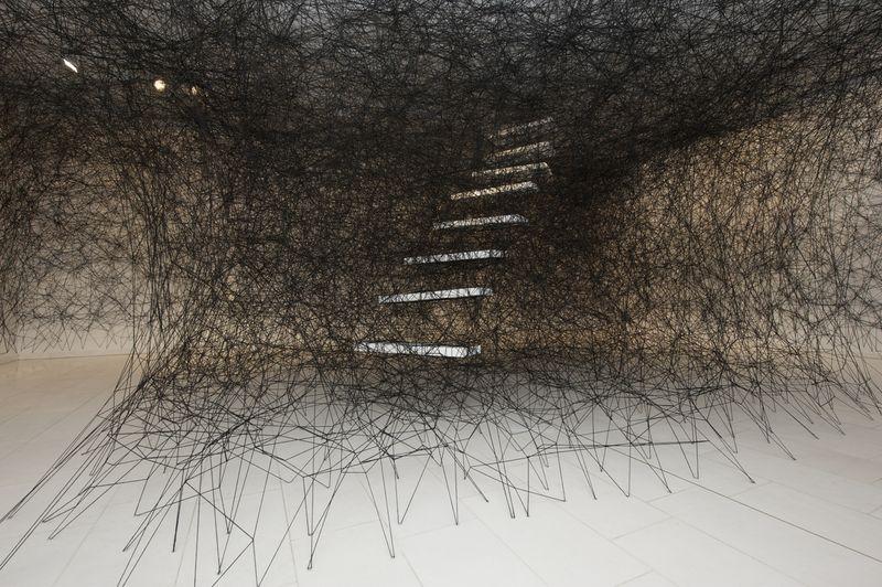 Chicharu Shiota installation