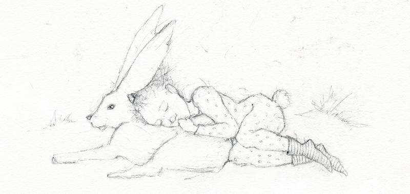 Drawing by Terri Windling