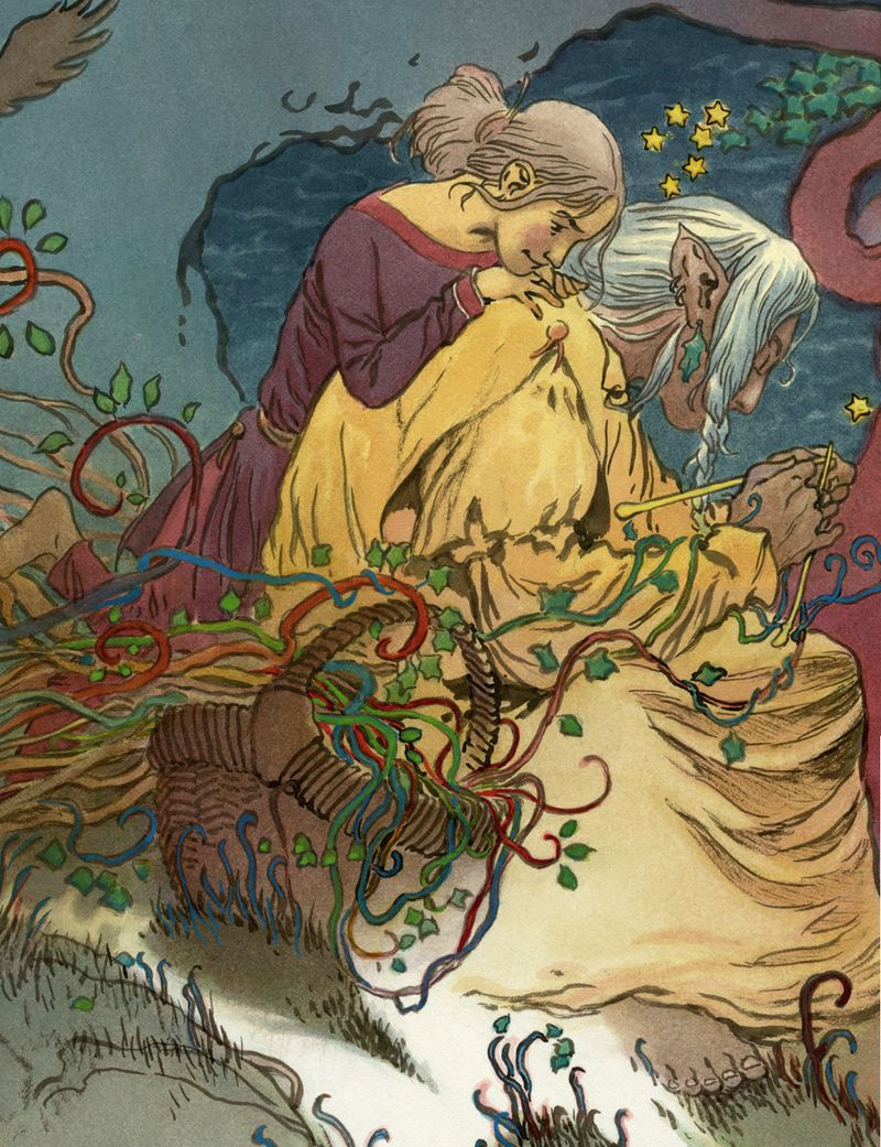 Gathering the Worlds by Charles Vess
