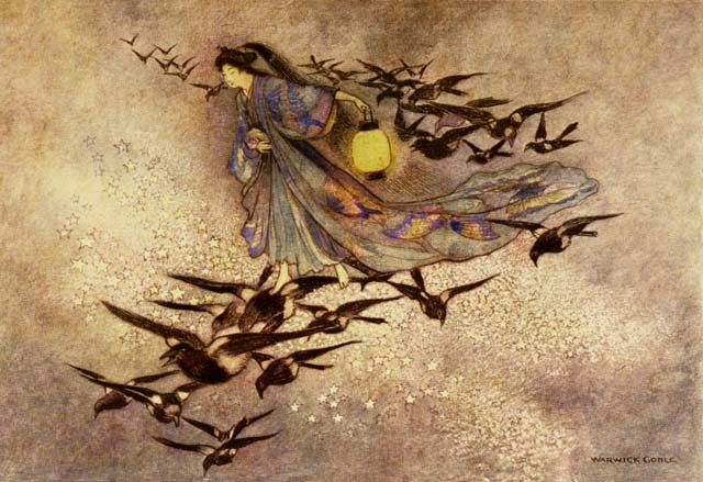 Green Willow by Warwick Goble