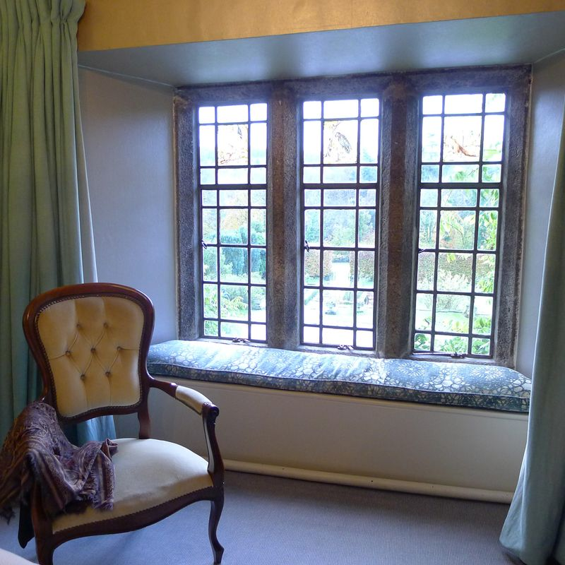 Window seat at Lewtrenchard
