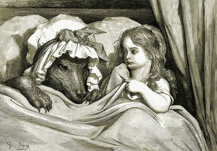 Little Red Riding Hood by Gustave Doré
