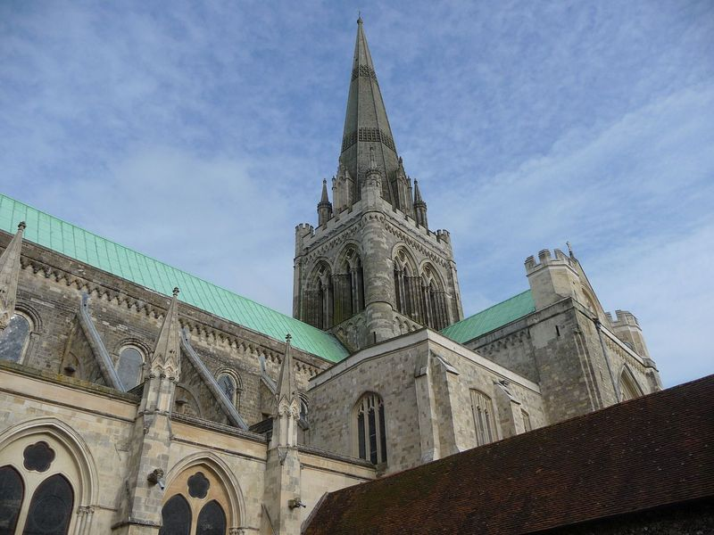 Chichester Catheral spires