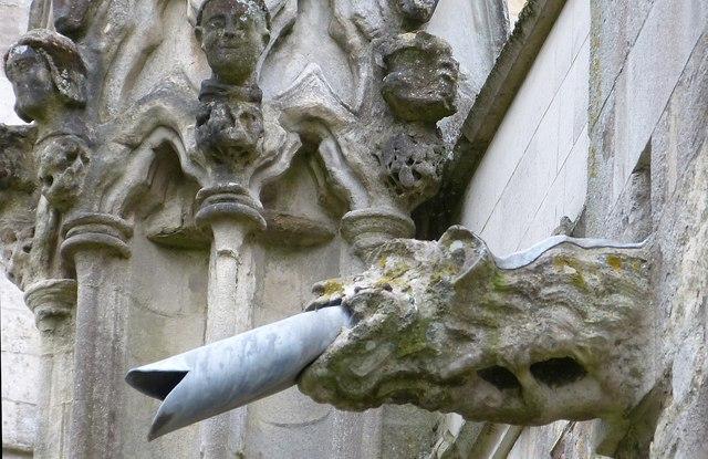 Chichester Cathedral Gargoyle