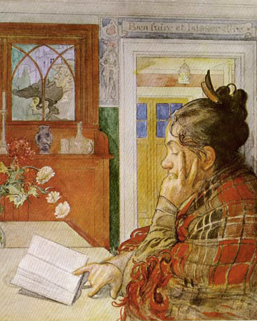 Painting by Carl Larsson