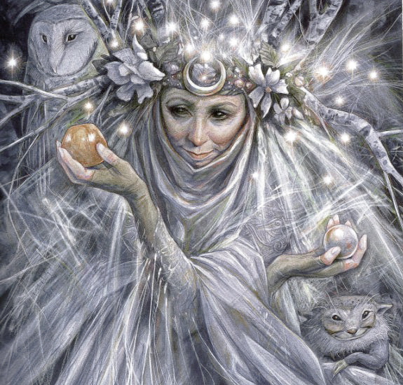 Fairy Godmother by Brian Froud