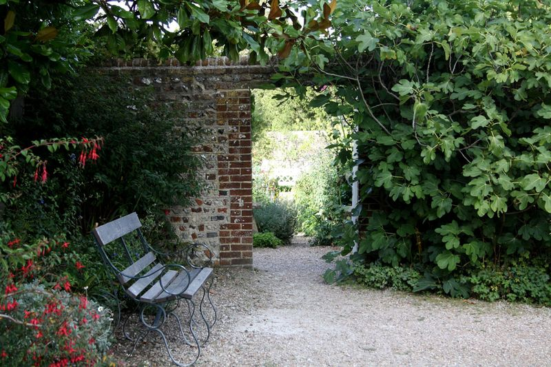 Entrance to the walled garden, Charleston