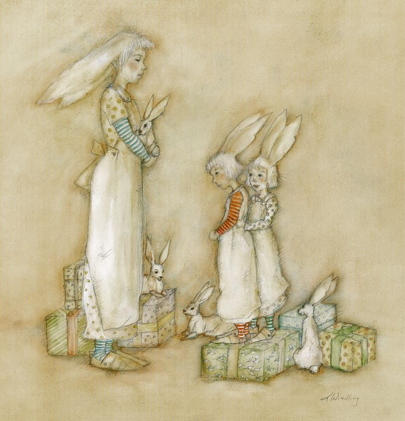 Bunny Gifts by T Windling
