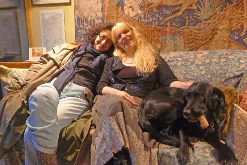 Ellen Kushner, Terri Windling, and Tilly