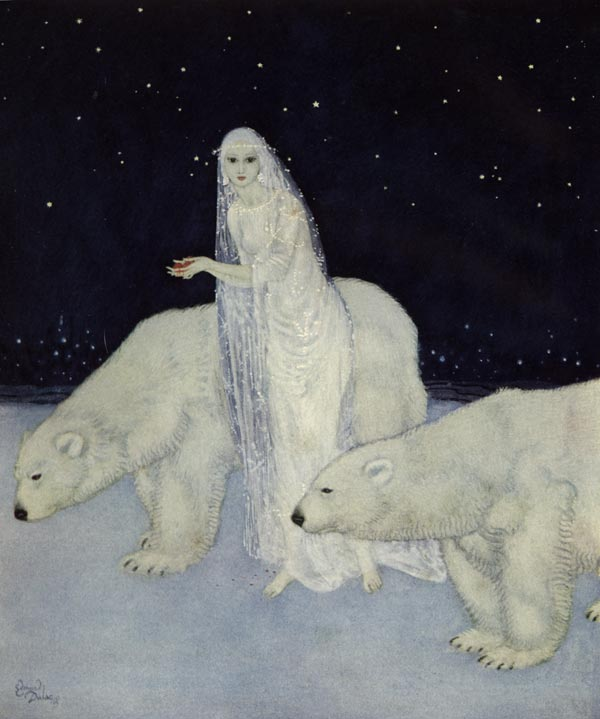 The Snow Maiden by Edmund Dulac