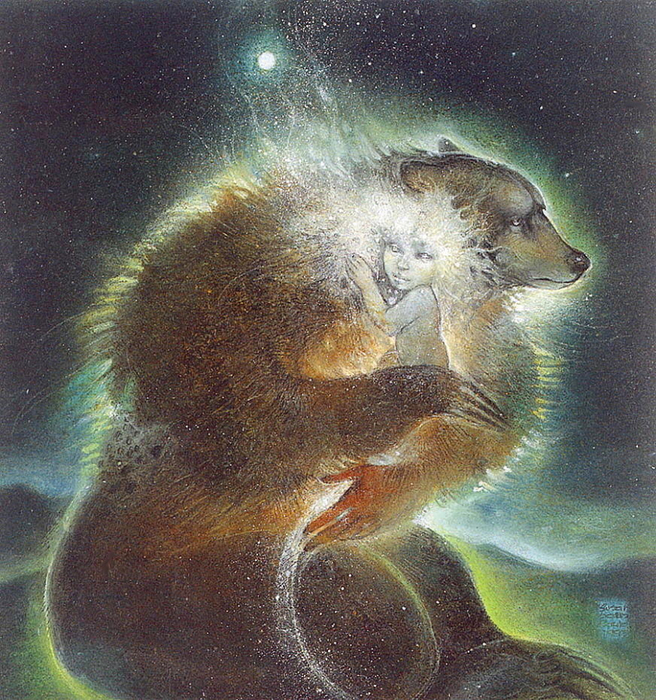 Bear Child by Susan Seddon Boulet