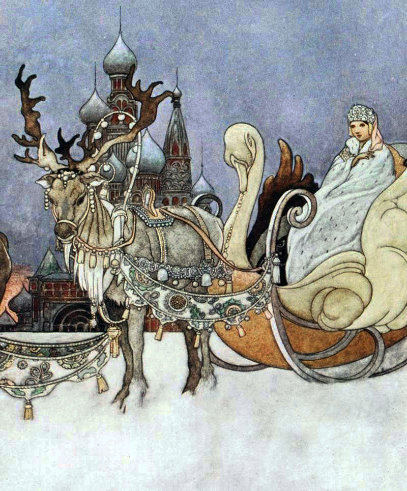The Snow Queen by Charles Robinson