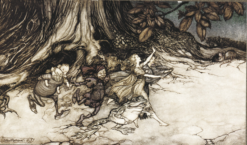 Arthur Rackham Fairies