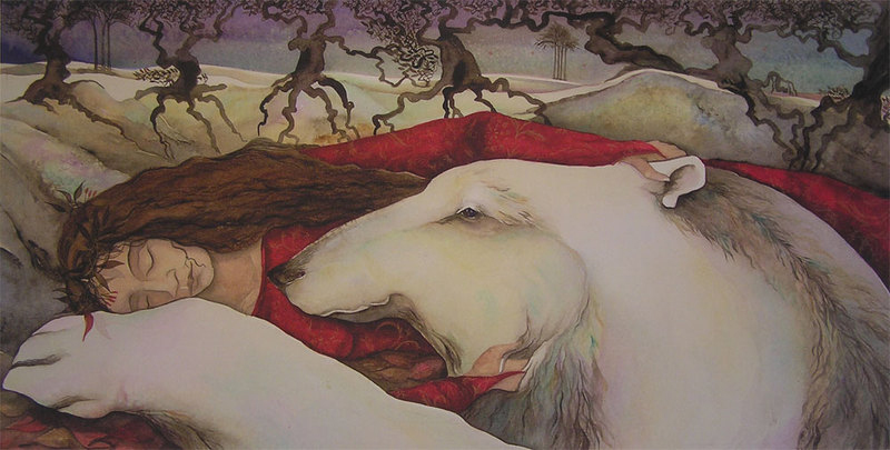 The White Bear by Jackie Morris
