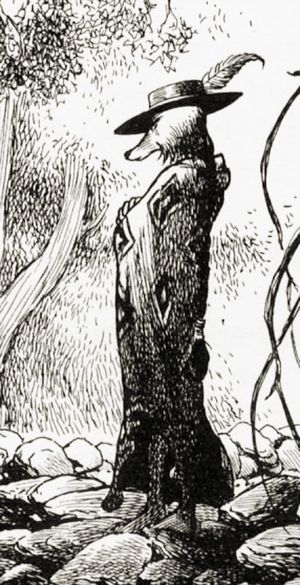 Coyote by Charles Vess