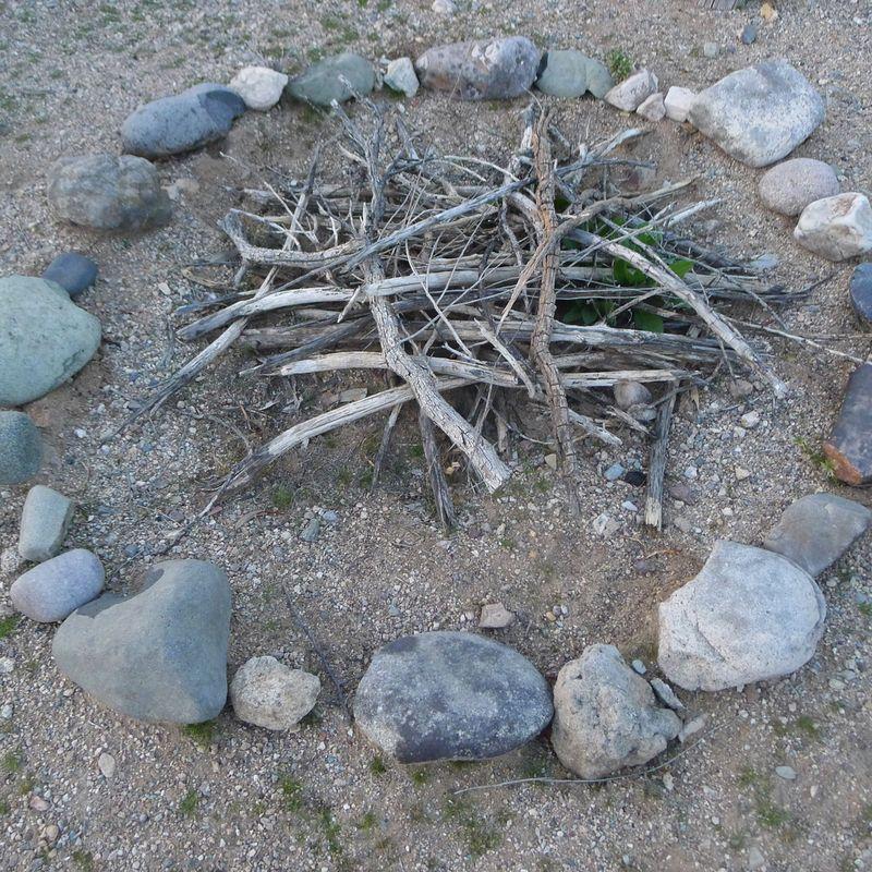 Mesquite kindling