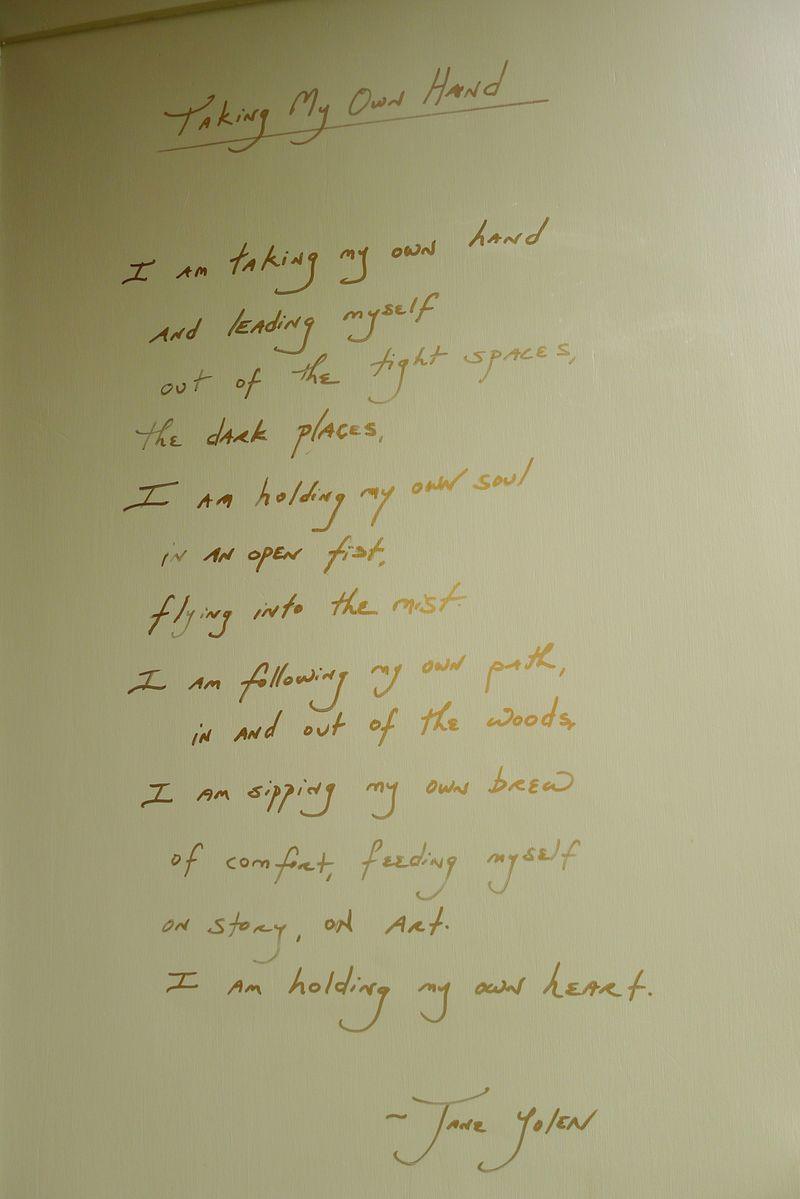 Door poem 3