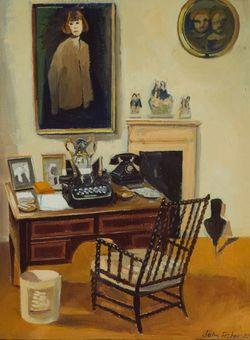 Daphne du Maurier's Desk by John Fisher