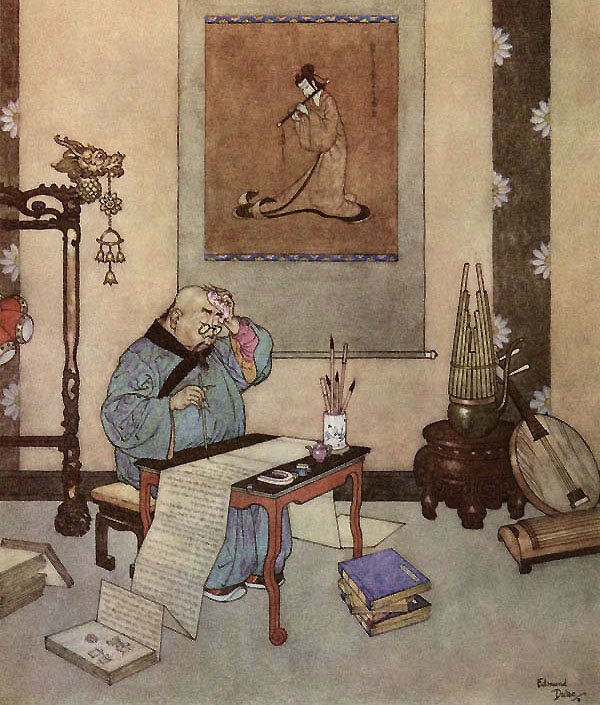 The Nightingale by Edmund Dulac