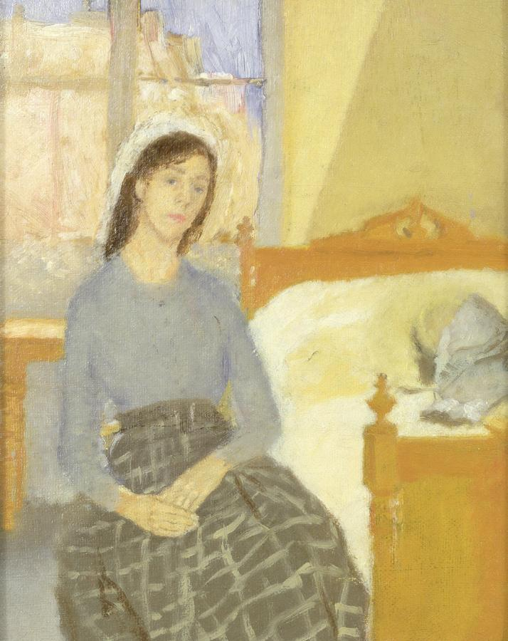 The Artist in Her Room in Paris by Gwen John