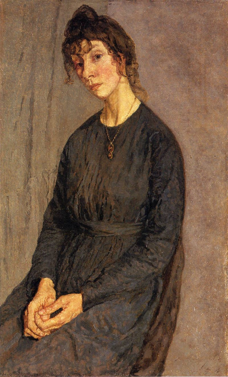 Portrait of Chloe Boughton-Leigh by Gwen John