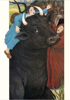 The Black Bull of Norroway by Anita Lobel