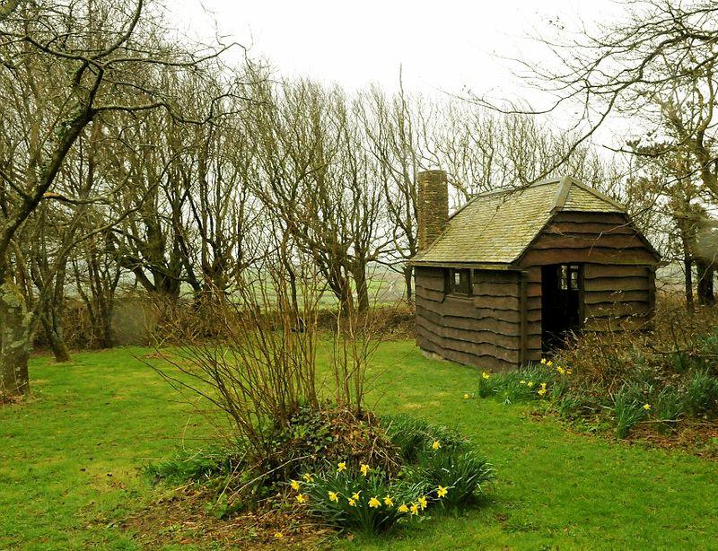 Henry William Williamson's writing hut