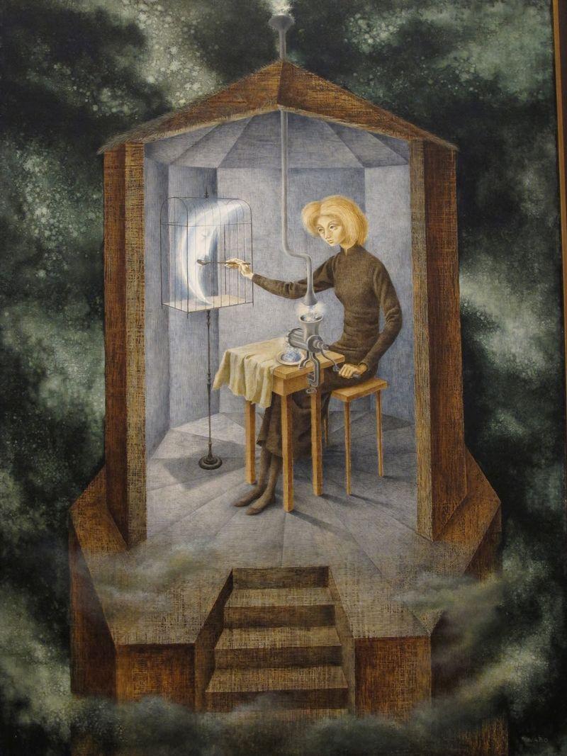 Celestial Pablum by Remedios Varo