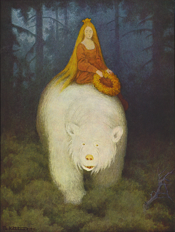 The White Bear King by Theodor Kittelsen