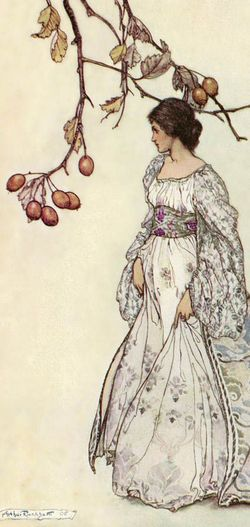 Looking Very Undacey Indeed by Arthur Rackham
