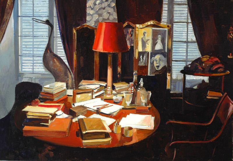 Jean Cocteau's Desk by John Fisher