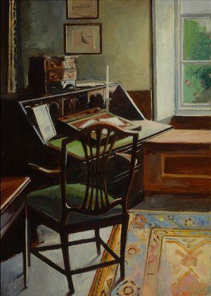 Beatrix Potter's Desk by John Fisher