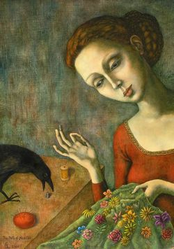 Path of Needles by Gina Litherland