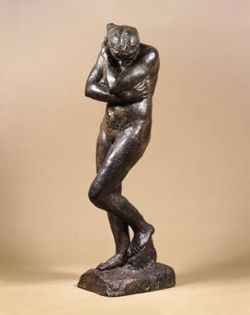 Eve by Auguste Rodin (one of the pieces Gwen John modelled for)